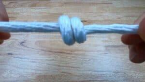 Barrel Knot Step 10