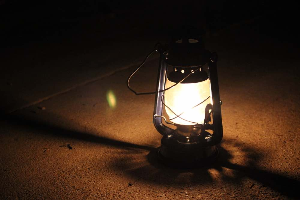 Keep two sources of emergency light in case of power outage or emergency.
