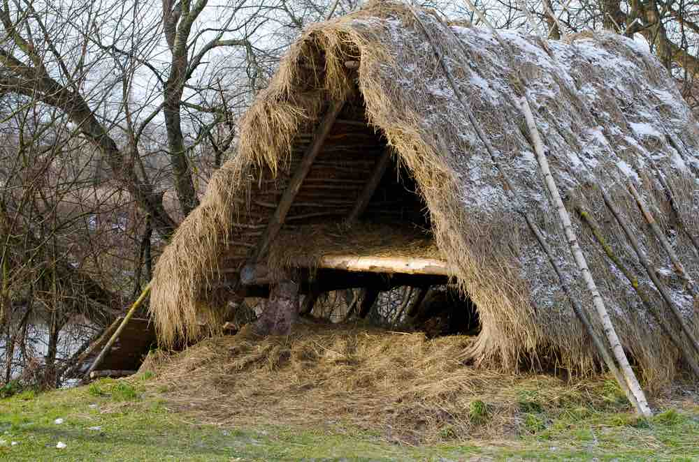 The A-frame shelter can be the difference between life and death in a survival situation.