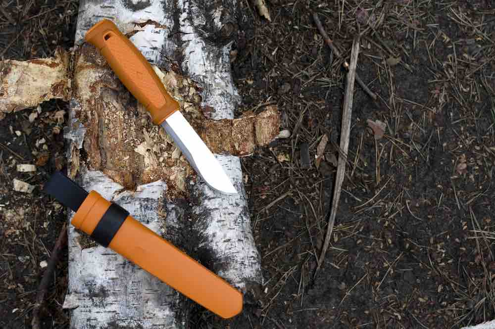 Your survival knives will mostly be used for woodworking, depending on the emergency situation you find yourself in.