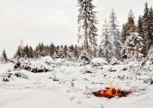 Winter Survival Fire