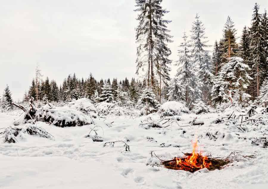 Winter Survival Fire