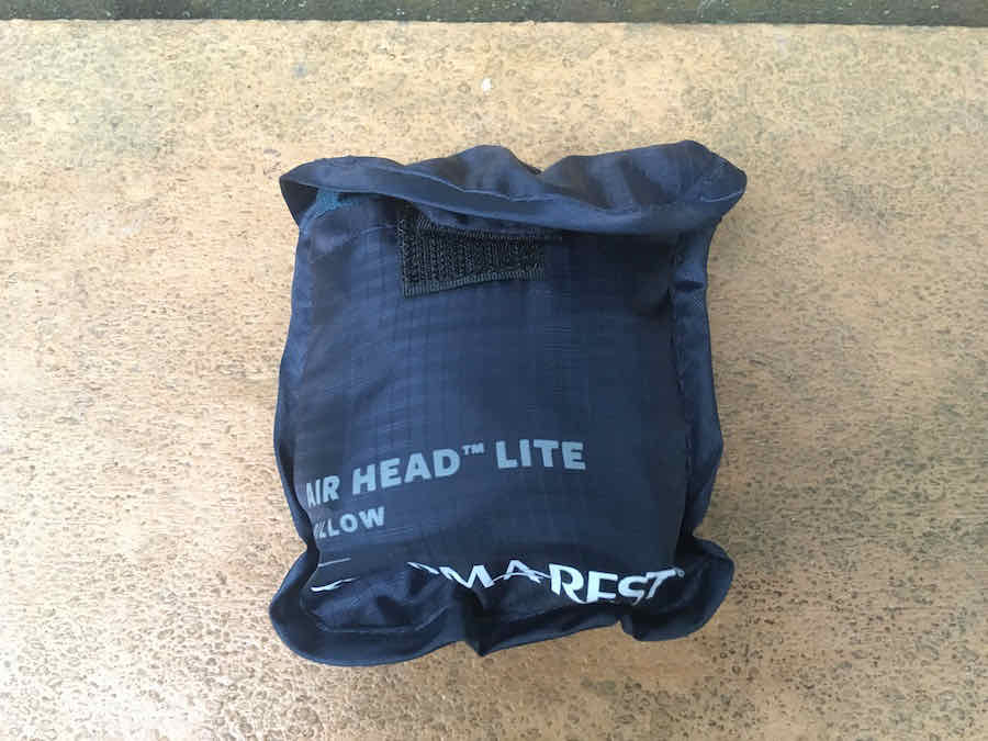Therm-a-Rest Air Head Lite Pillow in Stuff Sack