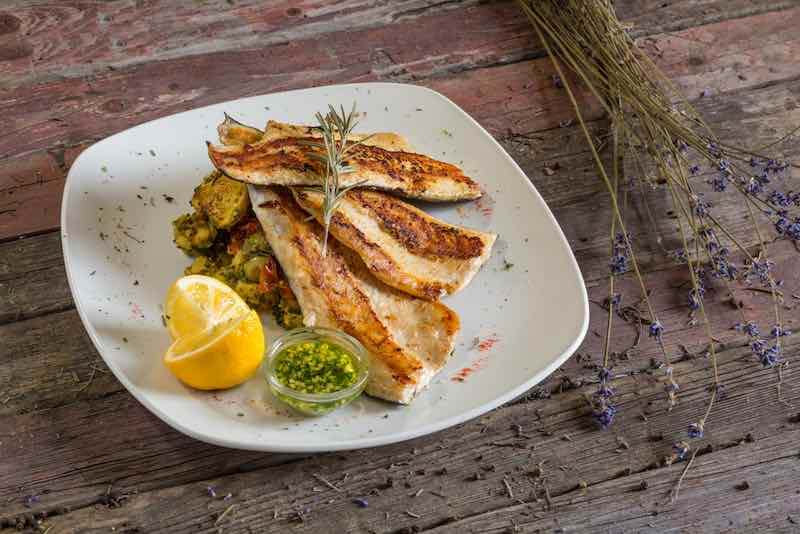 Cooked Trout Fillets