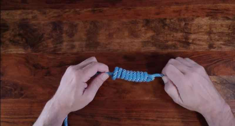 Heaving LIne Knot Step 8