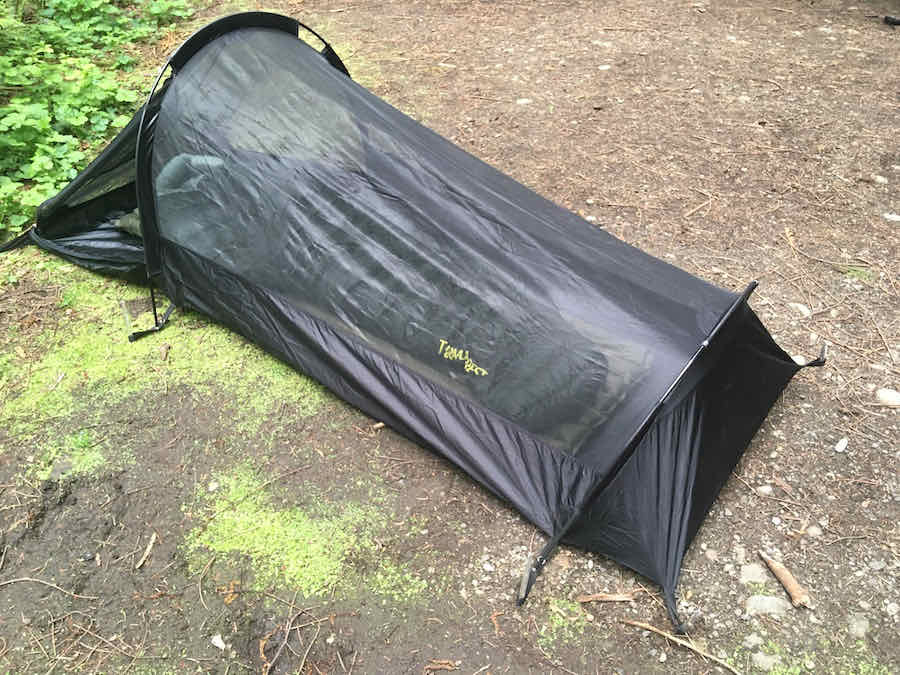 Therm-a-Rest Hyperion Sleeping Bag Inside Snupak Ionosphere Tent