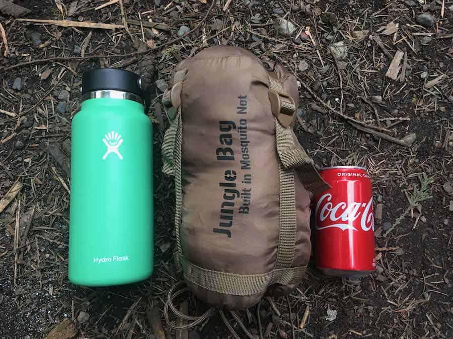 Snugpak Jungle Bag size comparison