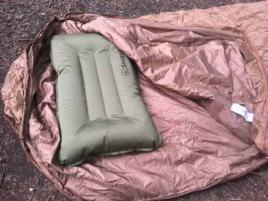 Snugpak Jungle Bag with Snugpak Pillow