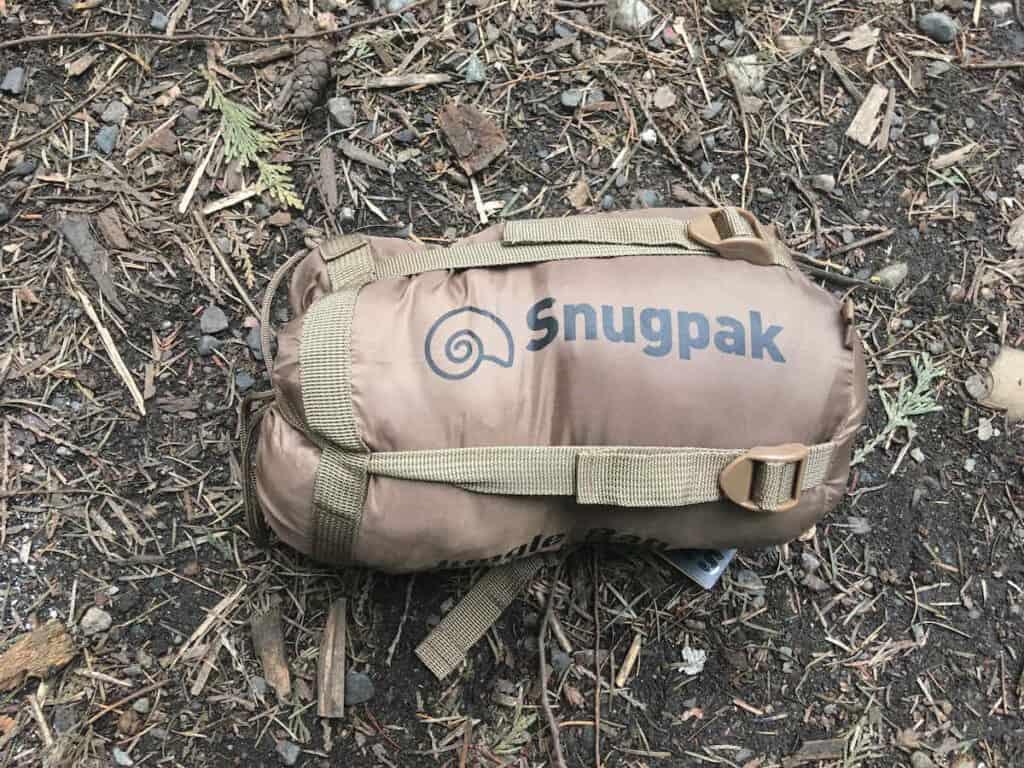 Snugpak Jungle Bag in Compression Sack