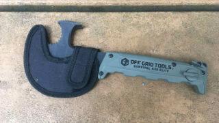 Off Grid Tools Survival Axe Elite