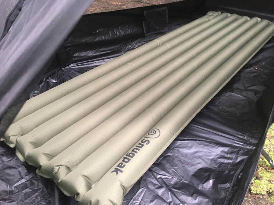 Snugpak Air Mat in Snugpak Ionosphere Tent