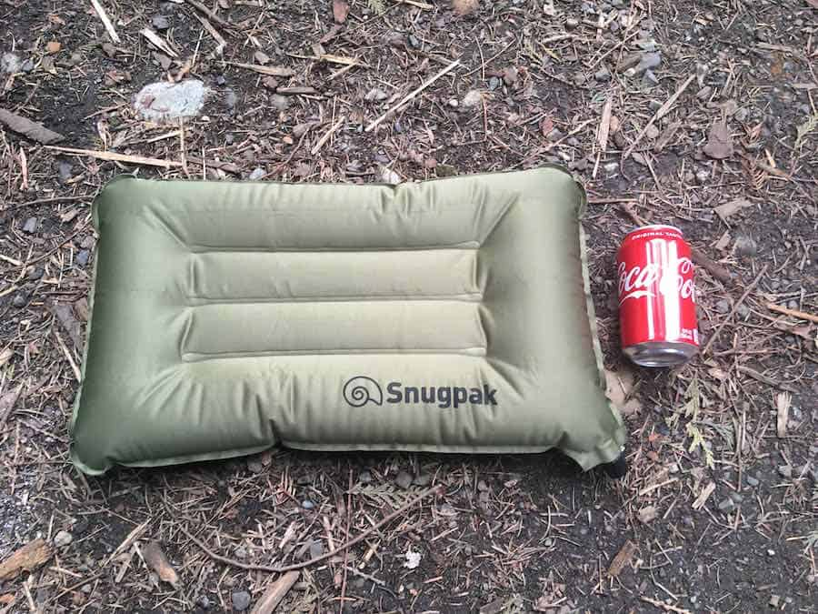Snugpak Air Pillow Inflated Size