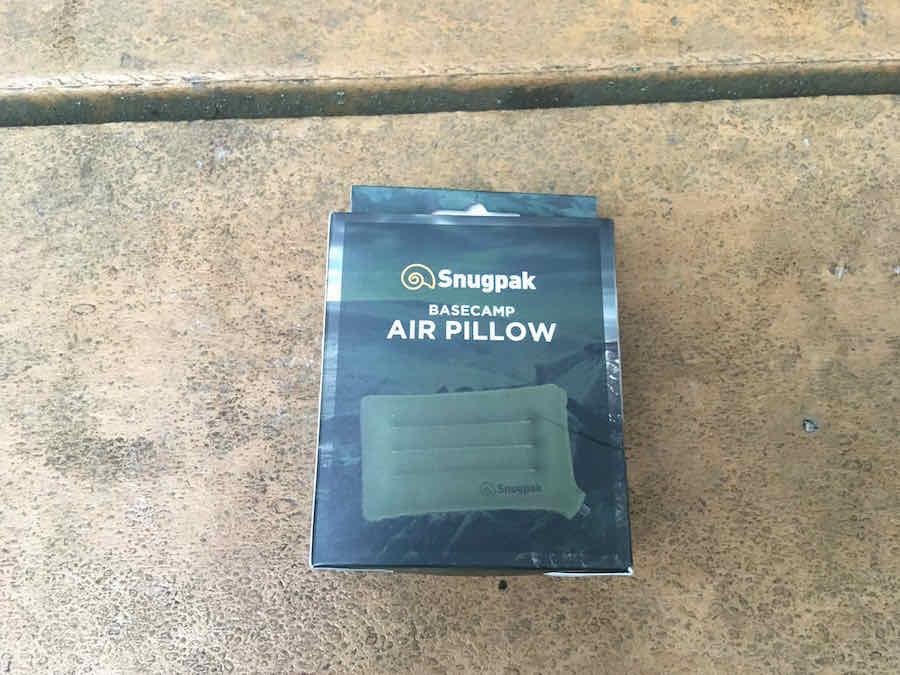 Snugpak Air Pillow in Packaging